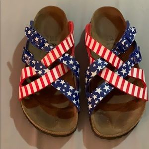 Birki's Stars and Stripes sandals